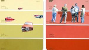 thumb-50 tons em cartelas de cores criativas